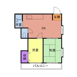 PLEAST田島Ⅱ 301号室の間取り