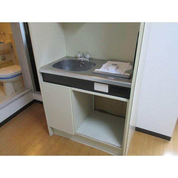 プレアール井高野 306号室のキッチン