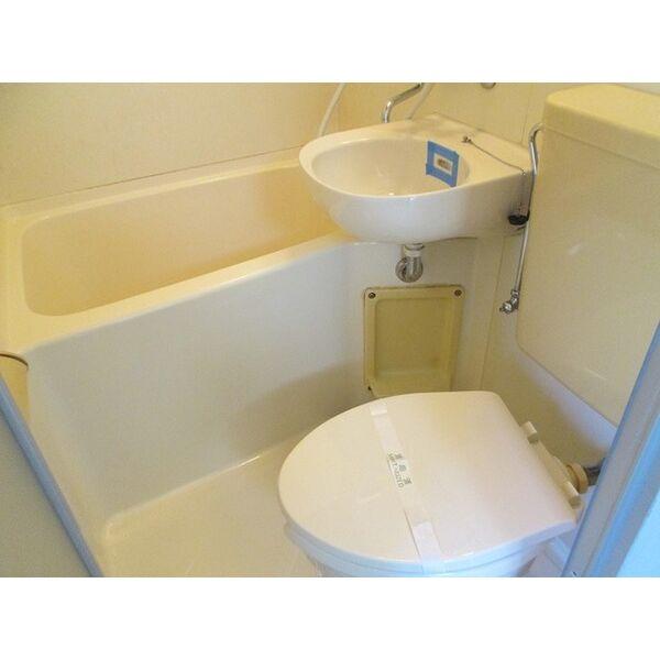 プレアール井高野 305号室のトイレ