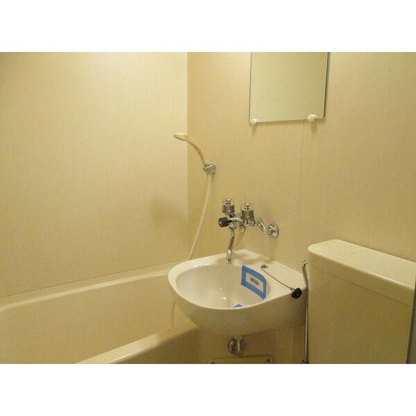 プレアール井高野 205号室の洗面所