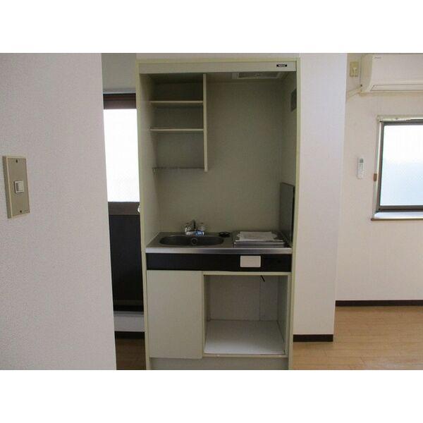 プレアール井高野 303号室のキッチン