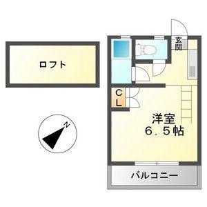プランドゥ五条B棟・205号室の間取り