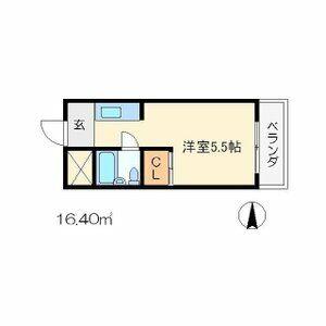 ネットワークジャパンⅡ・0505号室の間取り