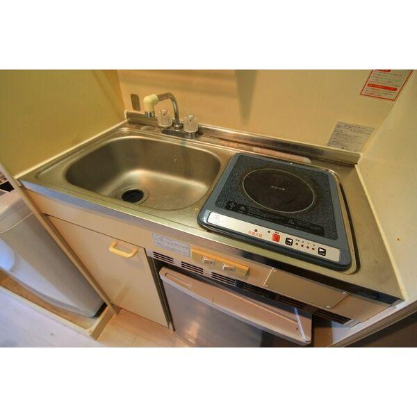 エクセランス石黒 204号室のキッチン