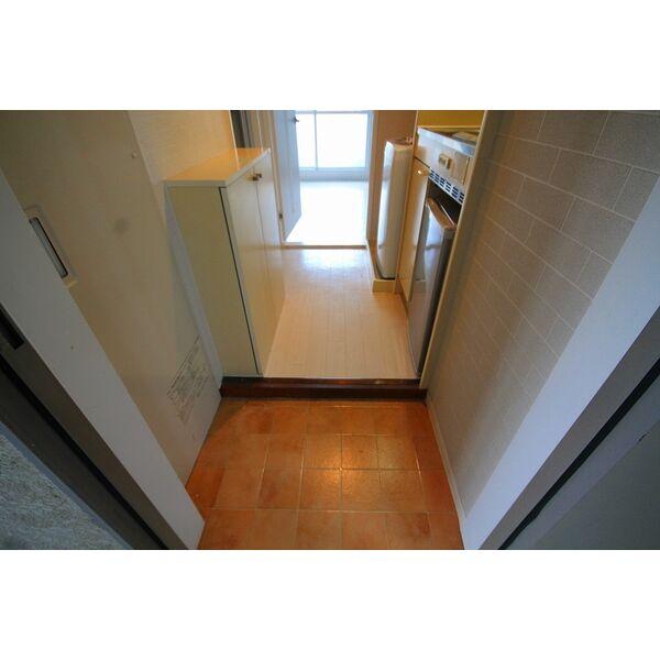 エクセランス石黒 204号室の玄関