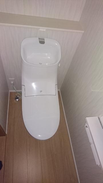 南台戸建のトイレ