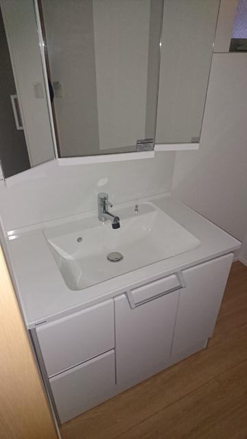 南台戸建の洗面所
