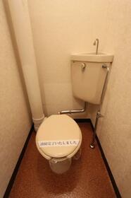 リリーフ室見 0701号室のトイレ