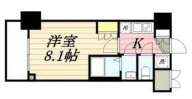 プレスタイル菊川・1203号室の間取り