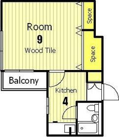 第2正美堂ビル 503号室の間取り