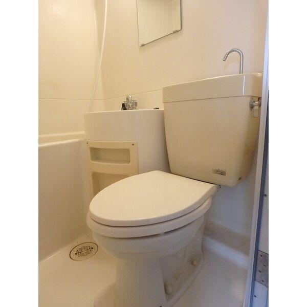 フローラハイツ 501号室のトイレ