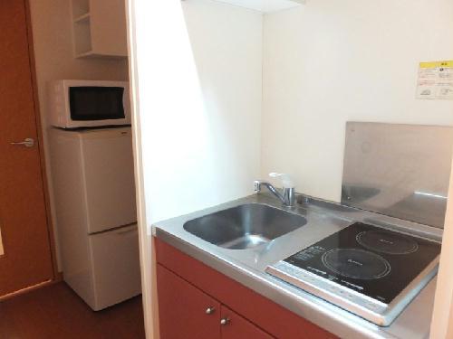 レオパレス本行徳 209号室のキッチン