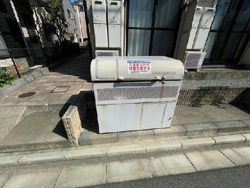 レオパレス美樹 203号室のトイレ