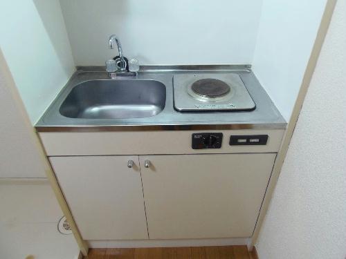 レオパレスオーシャン 207号室のキッチン