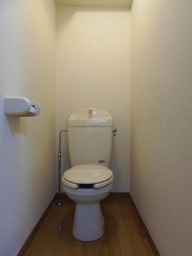 レオパレスオーシャン 207号室のトイレ