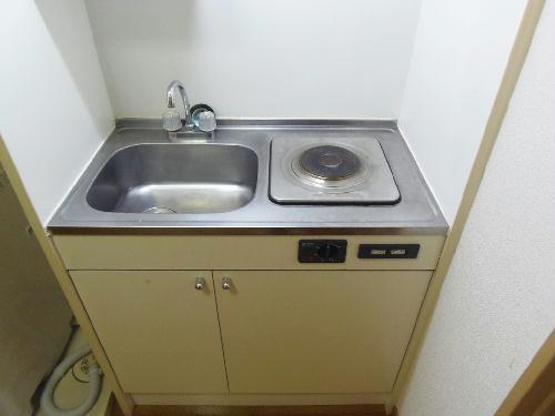 レオパレスノボル 106号室のキッチン