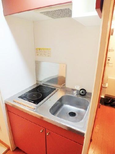 レオパレスWILL 203号室のキッチン