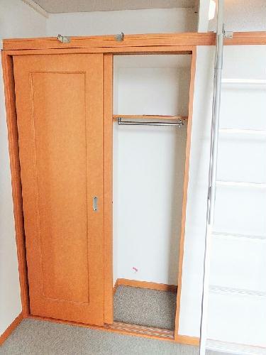 レオパレスWILL 203号室の収納