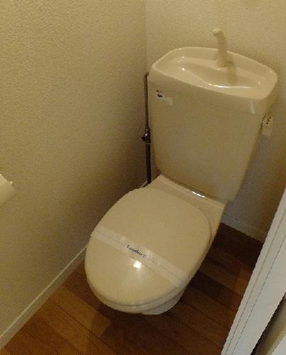 レオパレス豊 201号室のトイレ