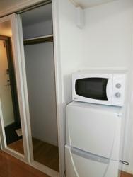 レオパレスイレブン 102号室の収納