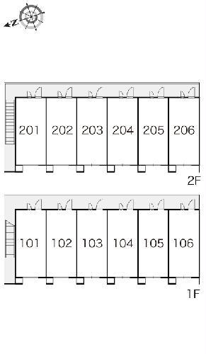 レオパレスイレブン 102号室のその他