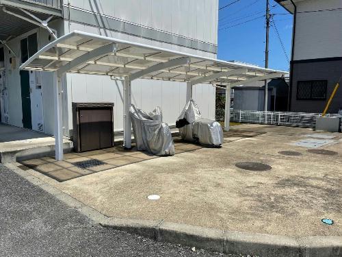 レオパレス今鹿島 101号室のトイレ