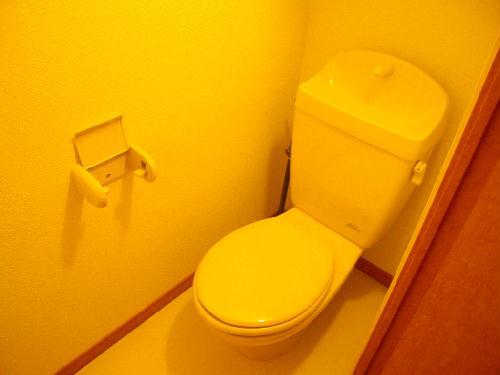 レオパレスY90 203号室のトイレ