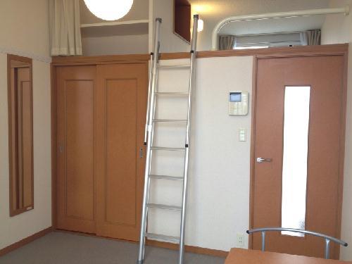 レオパレスラ・ポール 203号室のリビング
