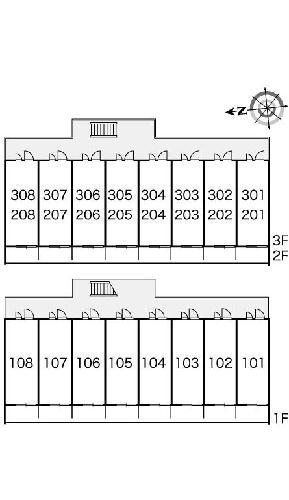 レオパレスキルシェンⅠ 105号室のリビング