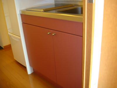 レオパレス上広 203号室の風呂