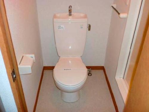 レオパレスシプレ 107号室のトイレ