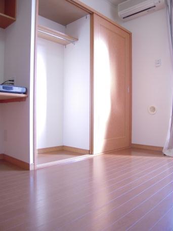 レオパレスアベニールノムラ 207号室の収納