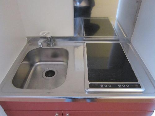 レオパレスグランデ瑞江 107号室のキッチン