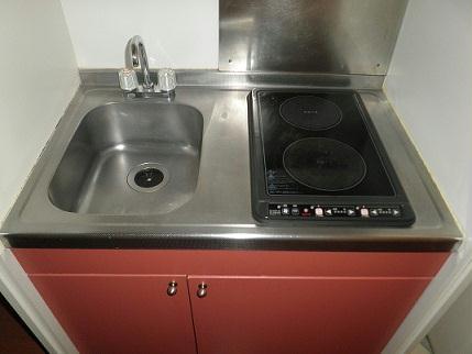 レオパレスヴィラ ラビニア 103号室のキッチン
