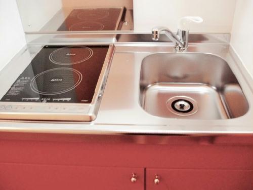 レオパレストサキ 203号室のキッチン