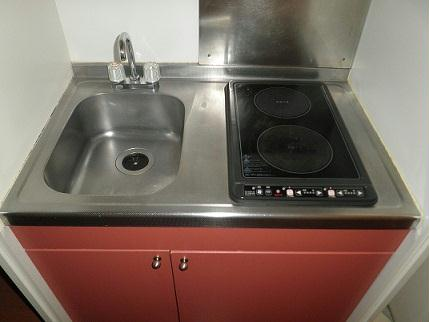 レオパレスヴィラ ラビニア 204号室のキッチン