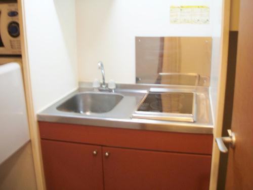 レオパレスeast MOAT 209号室のキッチン
