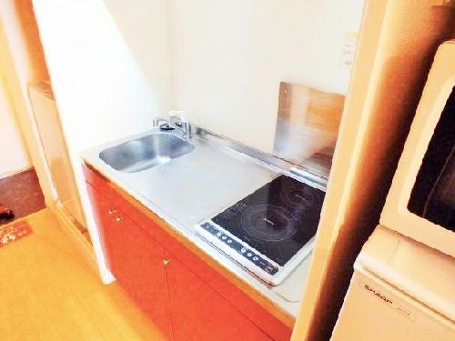 レオパレスエルムトゥプ 113号室のキッチン