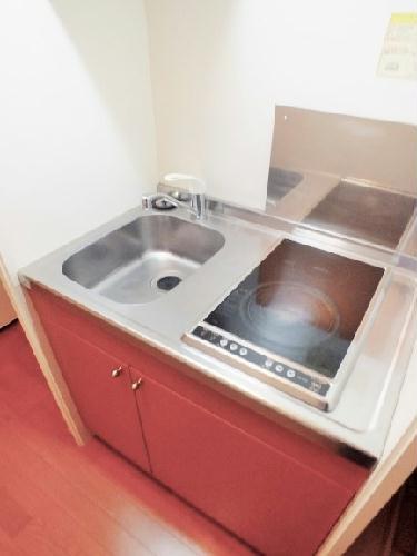 レオパレス梅花 105号室のキッチン