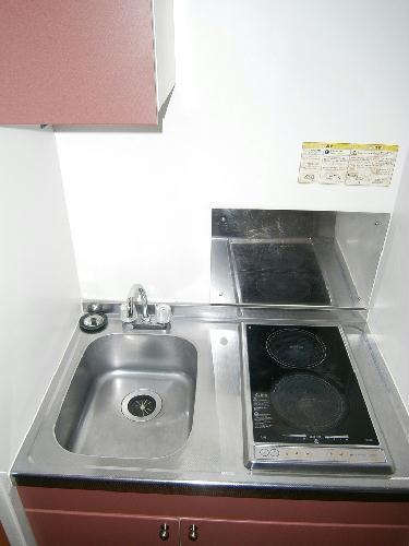 レオパレスみのり 101号室のキッチン