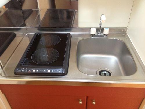 レオパレスビアンネートル 106号室のキッチン