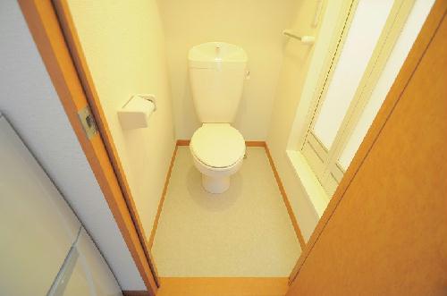 レオパレスグレイス清水 204号室のトイレ
