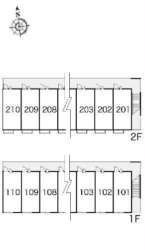 レオパレスイマジン 101号室の設備