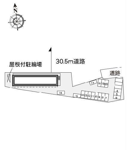 レオパレスイマジン 104号室の設備