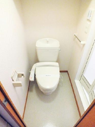 レオパレスピエナ 206号室のトイレ