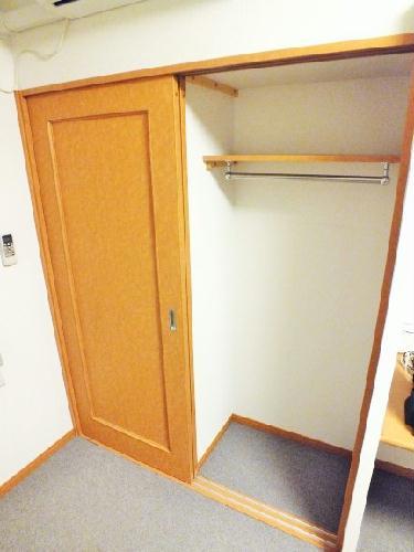 レオパレスピエナ 206号室の収納