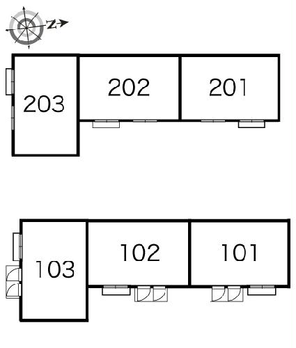 レオパレス谷原 202号室のその他