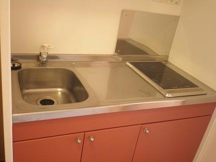 レオパレスセザル 201号室のキッチン