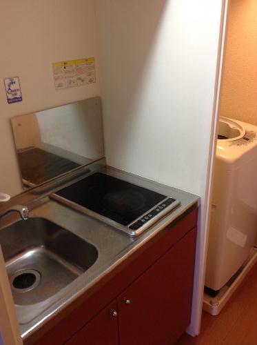 レオパレスアビイ ロード 101号室のトイレ