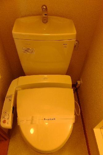 レオパレスメルベーユドミール 203号室のトイレ